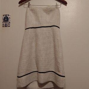 Kimchi Blue strapless tweed dress